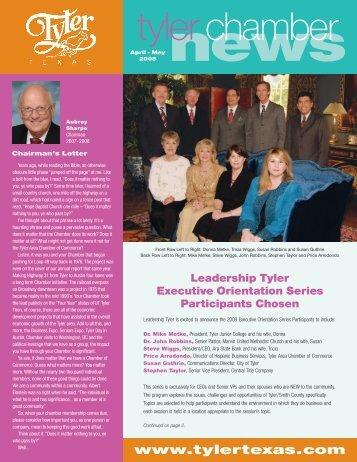 tyler Chamber News - Tyler, Texas