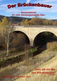 Gemeindebrief 2013-04 - Kirchengemeinde Oker