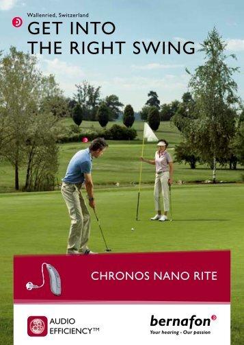End-user Brochure Chronos Nano RITE