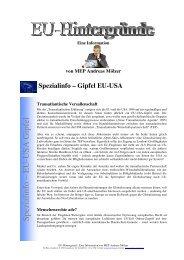 transatlantische Partnerschaft - Andreas Mölzer