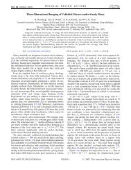 Three-Dimensional Imaging of Colloidal Glasses under Steady Shear