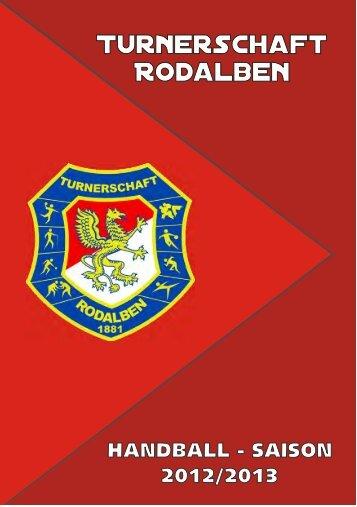 Handball Saison Heft 2012/13  zum Downloaden als