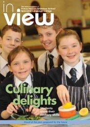 Culinary Delights - Prince Henrys Grammar School