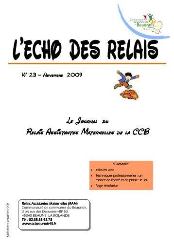 echos des RElais N\26023 - Communauté de communes du Beaunois