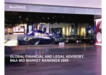 global financial and legal advisory - Our Company - Bloomberg