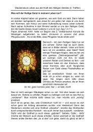 Was will der Heilige Geist in meinem Leben tun? - Pastoraler Raum ...
