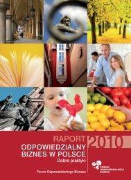 Ranking odpowiedzialnych firm 2010 - Kompania Piwowarska