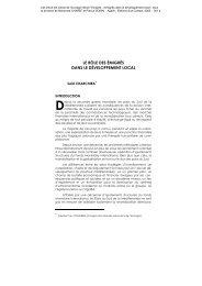 le rôle des émigrés dans le développement local - Maison des ...