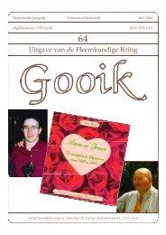 Nummer 64.qxd - Heemkundige Kring van Gooik