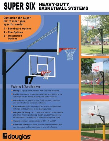 Super Six System - Douglas Sports Nets and Equipment