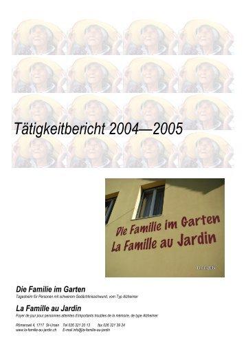 Werte mitglieder der vere for Au jardin de la famille de fabreville