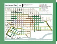 Streetscape Map - Capital City Development Corporation