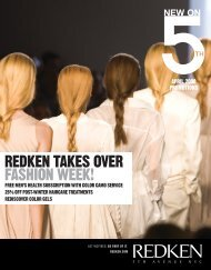 REDKEN TAKES OVER FASHION WEEK! - Redken Professional