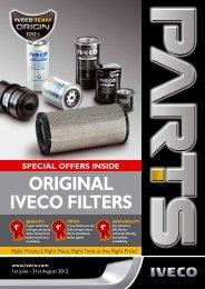 Original ivecO Filters - Walton Summit
