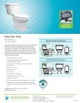 Power One® Toilet - Niagara Conservation - Page 2
