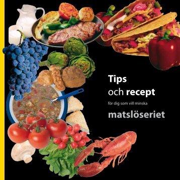 Minska matslöseriet - Skellefteå kommun