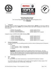 RMC 2012 Technical Regulations - Max Challenge