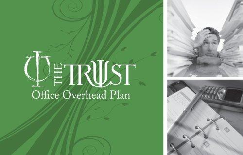 Office Overhead Plan - The Trust