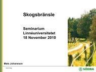 Södra, Mats Johansson.pdf - Energikontor Sydost