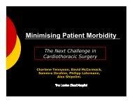 Prospective Morbidity Database Database - Society for ...