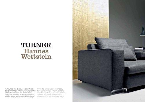 TURNER Hannes Wettstein - Design Lounge by Hinke