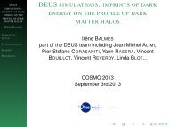 imprints of dark energy on the profile of dark matter halos