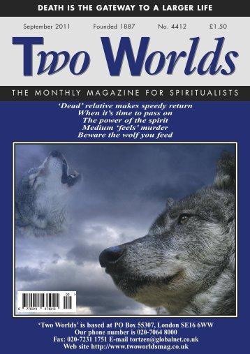 Dead - Two Worlds magazine