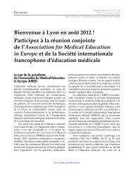 PDF (55.56 KB) - Pédagogie médicale