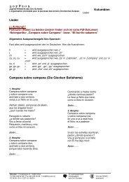 Kolumbien Lieder Campana sobre campana (Die ... - Horyzon