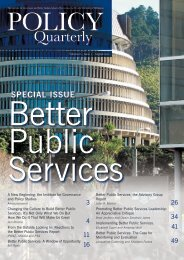 Promoting Better Public Services Leadership - New Zealand ...