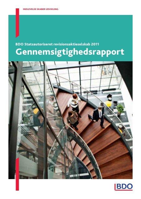 Gennemsigtighedsrapport 2011 - BDO