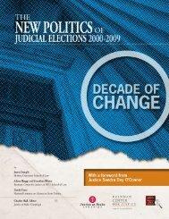 The New Politics of Judicial Elections 2000–2009 - Brennan Center ...