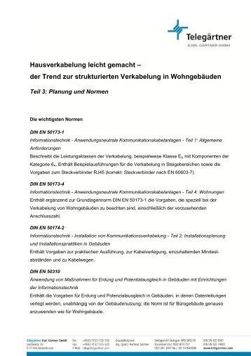 Strukturierte Verkabelung-Handbuch