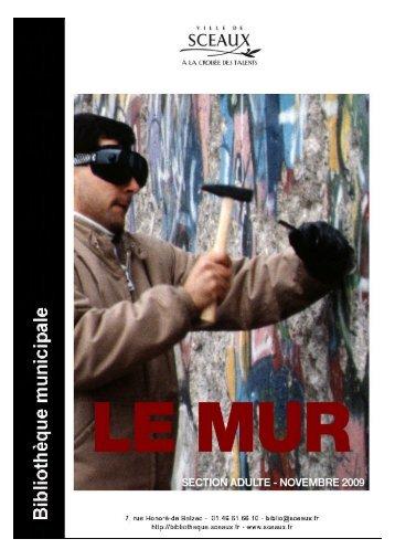 sites web - Bibliothèque municiaple de Sceaux
