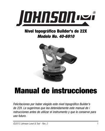40-6910 - Spanish - Johnson Level