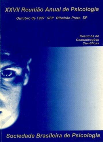 1997 - Sociedade Brasileira de Psicologia