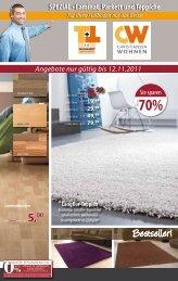 SPEZIAL • Laminat, Parkett und Teppiche - T+T Fachmarkt ...
