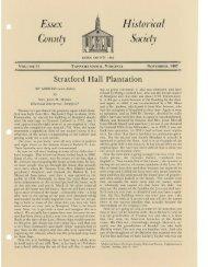 Bulletin Vol 31 - Essex County Museum