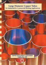 Pub 149 Large Diameter Copper Tubes for Industrial