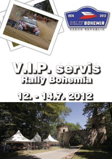 VIP servis - Rally Bohemia