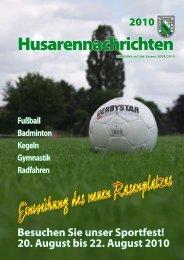 Husarennachrichten 2010 - TuS Bremen