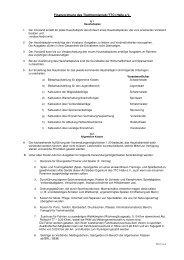 Finanzordnung des Tischtennisclub (TTC) Halle e.V.