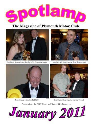 January 2011 - Plymouth Motor Club