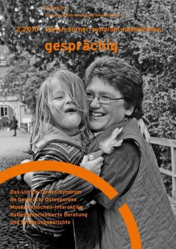 im gespräch - Turner-Syndrom-Vereinigung Deutschland eV