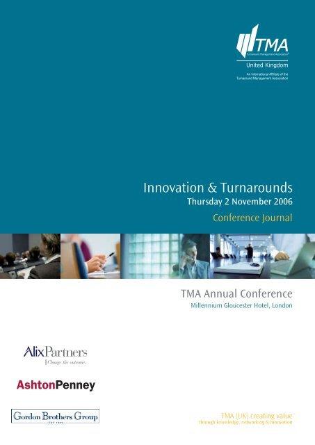 TMA conference journal - Turnaround Management Association (UK)