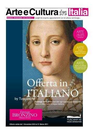 Arte e Cultura Italia - TuscanyAll