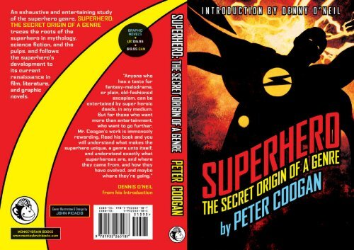 Superhero: The Secret Origin of a Genre by Peter Coogan