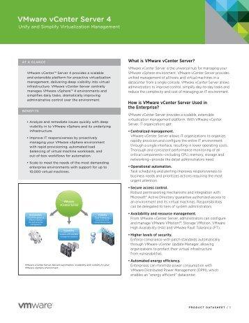 VMware vCenter Server 4