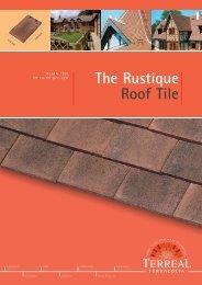 The Rustique Roof Tile