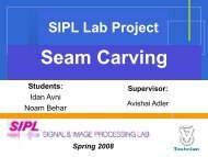 Seam Carving - SIPL